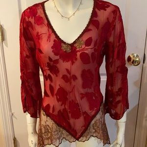 Vintage Spencer Alexis Red Beauty ❤️❤️❤️